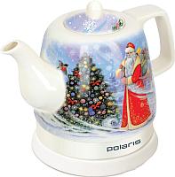 Электрочайник Polaris PWK 1299CCR (Дед Мороз) -