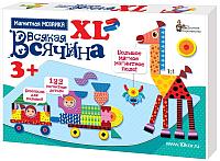 Развивающая игра Десятое королевство Мозаика магнитная. Всякая всячина XL / 02741 (122 эл) -