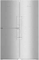 Холодильник с морозильником Liebherr SBSef 7343 -