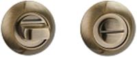 Фиксатор дверной защелки VELA WC-Round (бронза) -