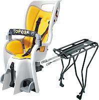 Детское велокресло Topeak Babyseat II W/Disc / TCS2205 (желтый) -