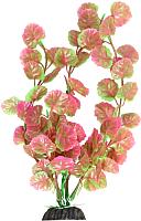 Декорация для аквариума Laguna Щитолистник 1036LD / 74044070 (розовый/зеленый) -
