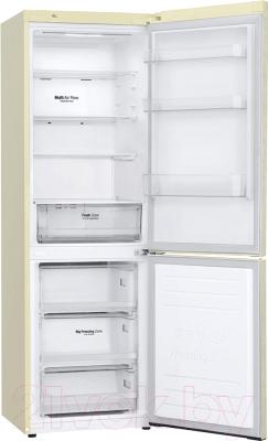 Холодильник с морозильником LG GA-B459MESL