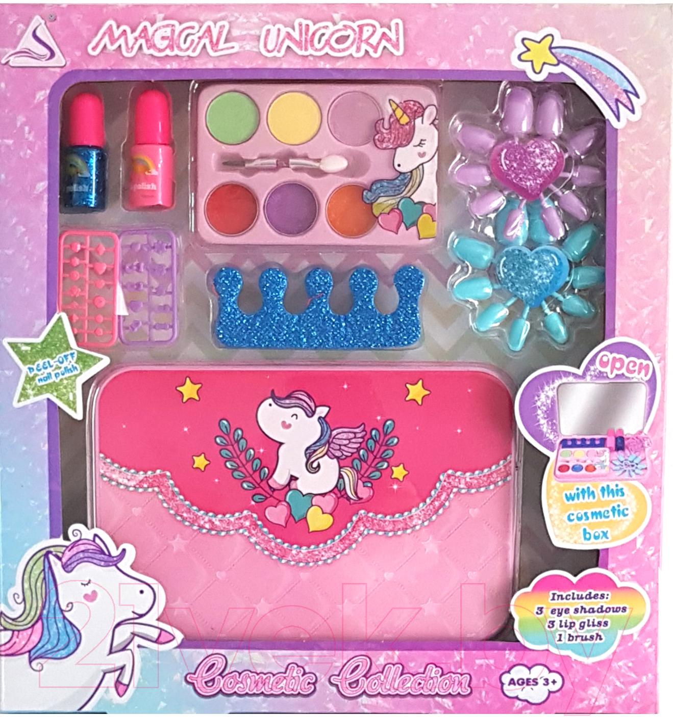 Купить Набор детской декоративной косметики Qunxing Toys, Таинственный единорог / J-1011, Китай