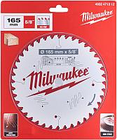 Пильный диск Milwaukee 4932471312 -