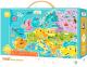 Пазл Dodo Карта Европы / 300124 (100эл) -