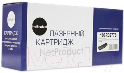 Купить Тонер-картридж NetProduct, N-106R02778, Китай, черный