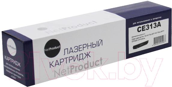 Купить Тонер-картридж NetProduct, N-CE313A, Китай, пурпурный