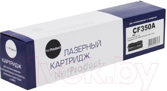 Купить Тонер-картридж NetProduct, N-CF350A, Китай, черный