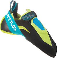 Скальные туфли La Sportiva Python / 20V705614 (р-р 37.5, зеленое яблоко/тропический голубой) -