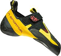 Скальные туфли La Sportiva Skwama / 10SBY (р-р 37.5, черный/желтый) -