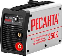 Инвертор сварочный Ресанта САИ-250К (65/38) -