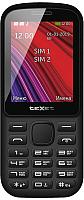 Мобильный телефон Texet TM-208 (черный/желтый) -