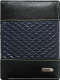 Портмоне Cedar Loren N4-DDG (черный/синий) -