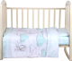 Детское постельное белье Alis Маленький ангел 3 (мятный) -