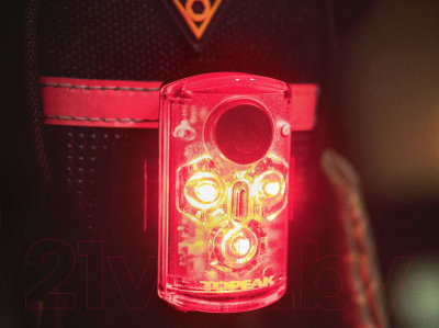 Фонарь для велосипеда Topeak Red Lite Mini USB / TMS078