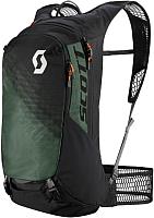 Рюкзак велосипедный Scott Trail Protect Evo FR' 20 / 264495-5791 (черный/темно-зеленый) -
