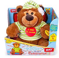 Интерактивная игрушка Fancy Медведь-сказочник / MCHN01/M -