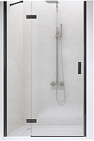 Душевая дверь New Trendy New Renoma L D-0197A/W (100х195, черный) -