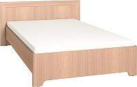 Каркас кровати Глазов Анкона 4 120x200 (дуб отбеленный) -