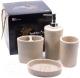 Набор аксессуаров для ванной Белбогемия 25736416 -