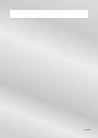 Зеркало для ванной Cersanit Led 010 50x70 / KN-LU-LED010-50-b-Os -