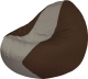 Бескаркасное кресло Flagman Classic К2.1-66 (серый/коричневый) -