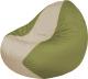 Бескаркасное кресло Flagman Classic К2.1-70 (светло-бежевый/оливковый) -
