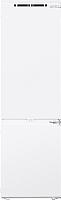 Встраиваемый холодильник Maunfeld MBF177NFWH -