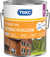 Антисептик для древесины Текс Биотекс Классик Универсал (2.7л, вишня) -