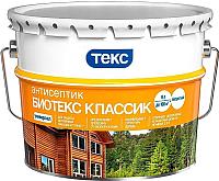 Антисептик для древесины Текс Биотекс Классик Универсал (9л, калужница) -