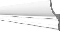Плинтус потолочный Decor-Dizayn DD507 c отражателем (100x55x2000) -