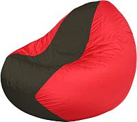 Бескаркасное кресло Flagman Classic К2.1-135 (черный/красный) -