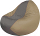 Бескаркасное кресло Flagman Classic К2.1-139 (серый/темно-бежевый) -