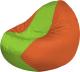 Бескаркасное кресло Flagman Classic К2.1-161 (салатовый/оранжевый) -
