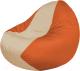 Бескаркасное кресло Flagman Classic К2.1-162 (темно-бежевый/оранжевый) -