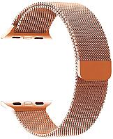 Ремешок для умных часов Miru 4057 для Watch SG-01 (миланское плетение, розовое золото) -