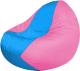 Бескаркасное кресло Flagman Classic К2.1-167 (голубой/розовый) -