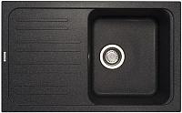 Мойка кухонная Longran Classic CLS740.460 (лава) -