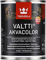 Лазурь для древесины Tikkurila Валтти Акваколор (900мл, бесцветный) -