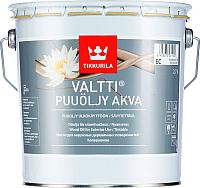 Масло для древесины Tikkurila Валтти Аква (2.7л) -
