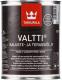 Масло для древесины Tikkurila Валтти Калусте (900мл, черный) -