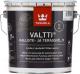 Масло для древесины Tikkurila Валтти Калусте (2.7л, черный) -