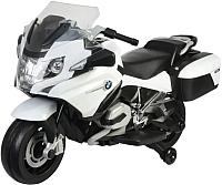 Детский мотоцикл Chi Lok Bo BMW R 1200 RT / 213 (белый/черный) -