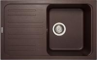 Мойка кухонная Longran Classic CLS740.460 (марон) -
