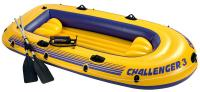 Надувная лодка Intex 68370NP Challenger-3 Set -