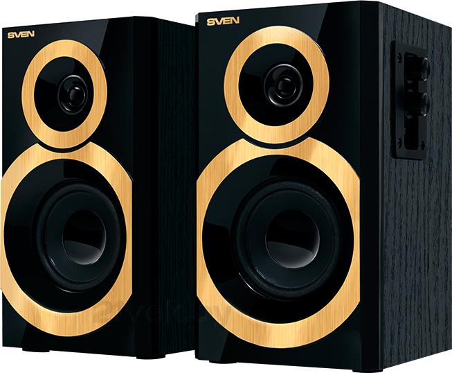 Купить Мультимедиа акустика Sven, SPS-619 (черно-золотой), Китай, черный