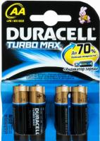 Комплект батареек Duracell TurboMax LR6 (4шт) -