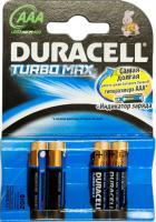 Комплект батареек Duracell TurboMax LR03 (4шт) -