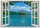 Фотообои Твоя планета Люкс Дом на острове (194x136) -
